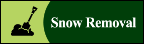 Snow Plow Shovel Icon - Lawn Contractor